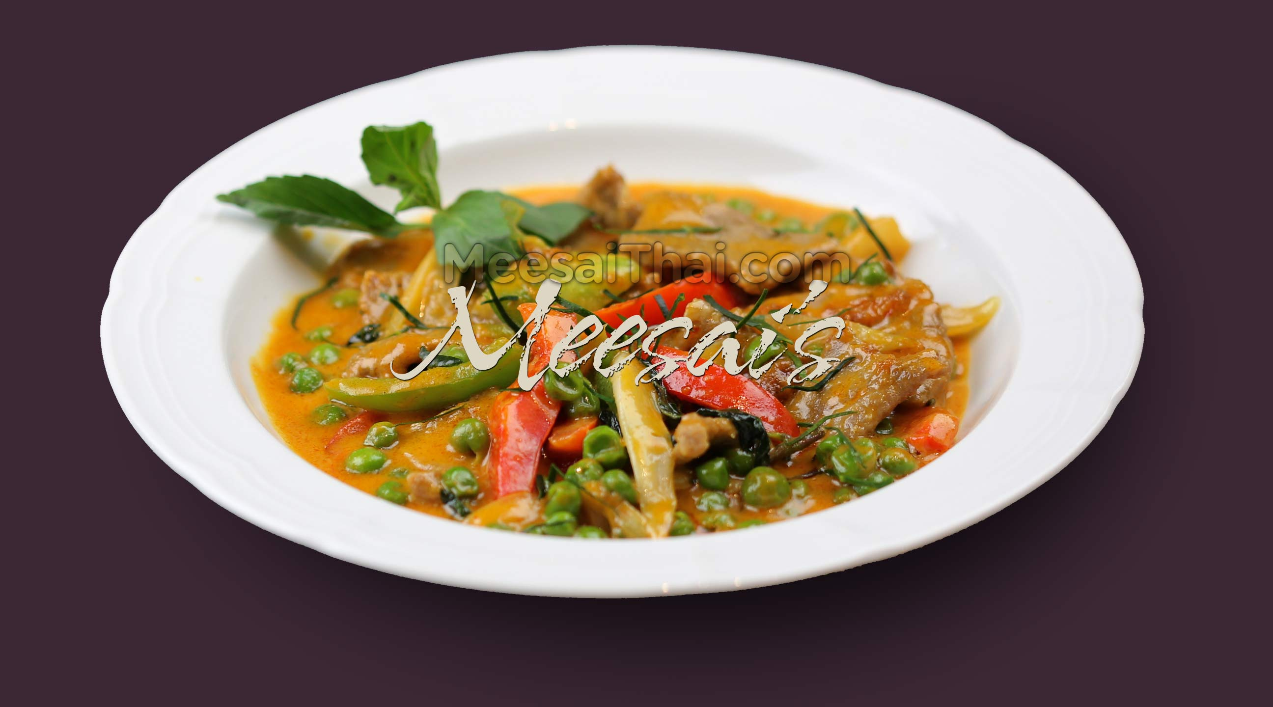Panang Curry Dish